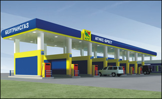 Проект реконструкции газовой заправочной станции