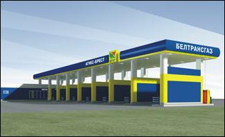 Проект реконструкции газовой заправочной станции картинка